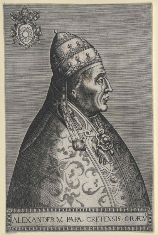 Alexander V., papa