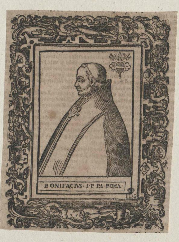 Bonifatius I., papa