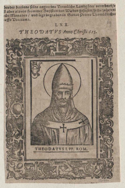 Adeodatus I., papa