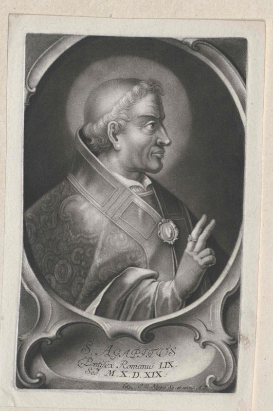 Agapetus I., papa
