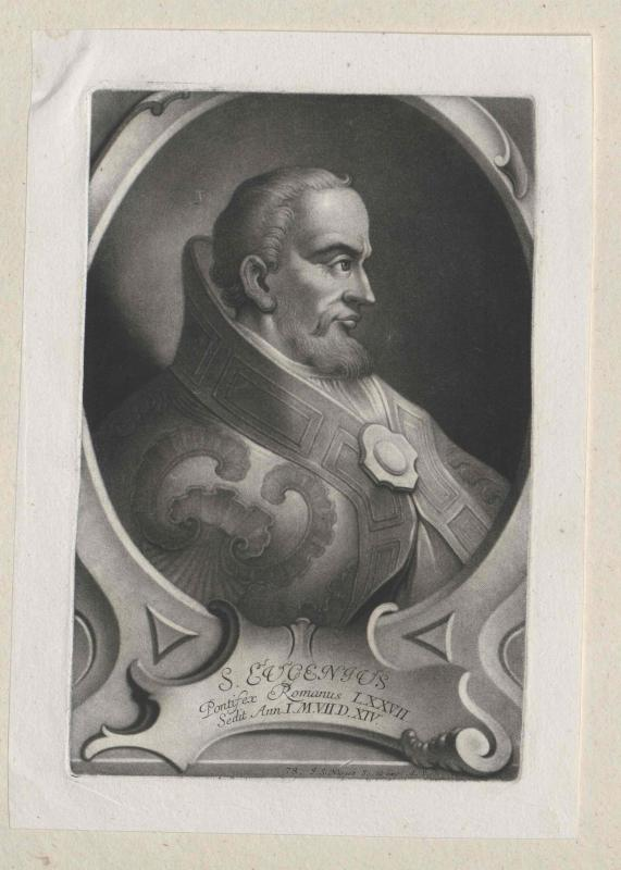 Eugen I., Heiliger papa