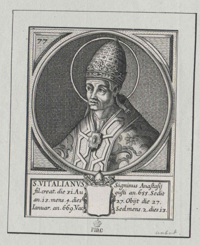 Vitalian, papa