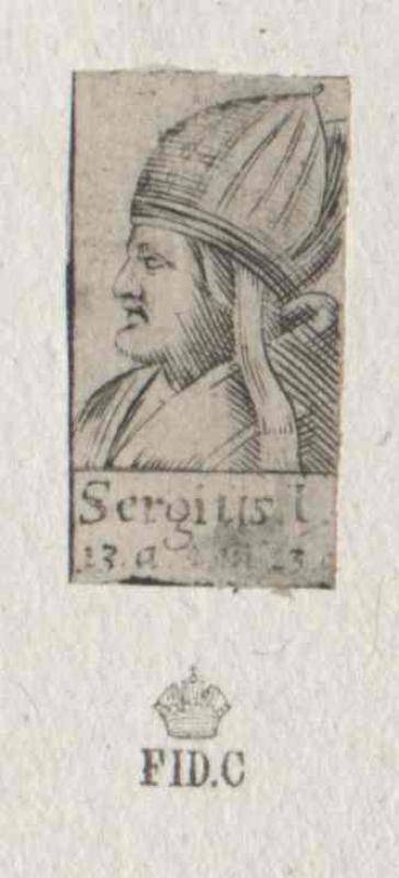 Sergius I., papa