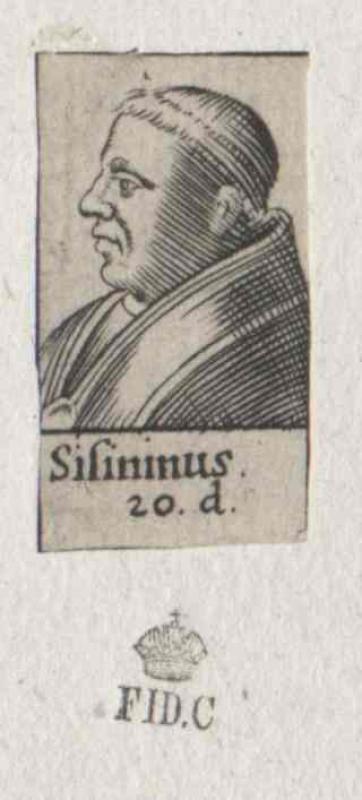 Sisinnius, papa