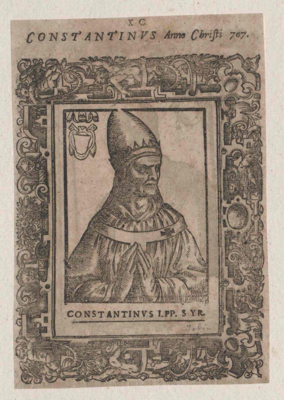 Konstantin I., papa