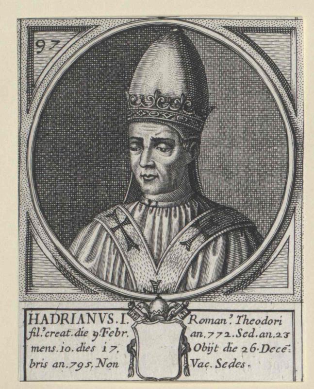 Hadrian I., papa