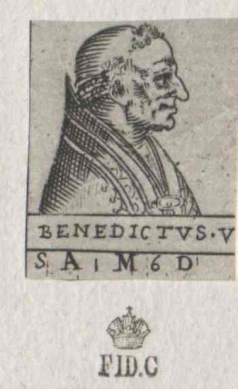 Benedikt V., papa
