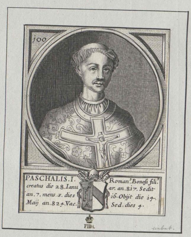 Paschalis I., papa