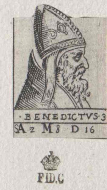 Benedikt III., papa