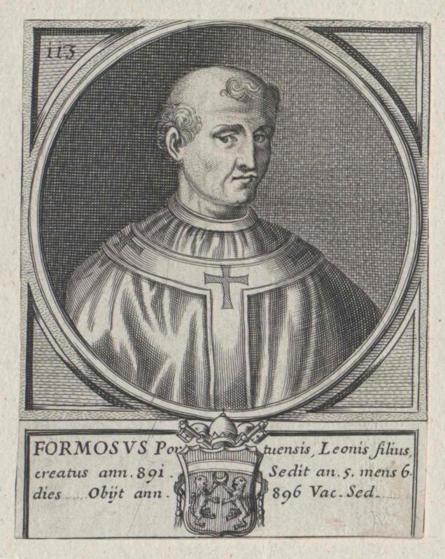Formosus, papa