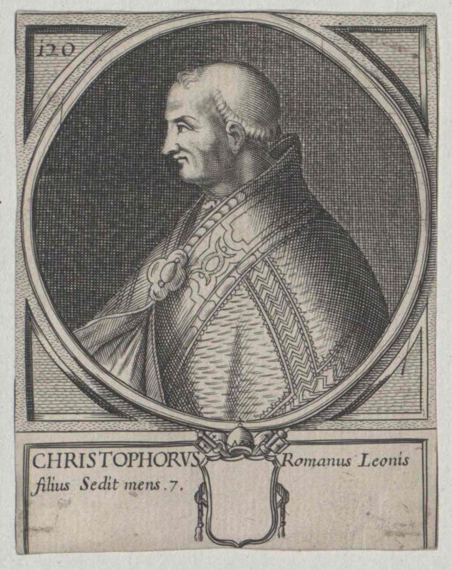 Christophorus, papa