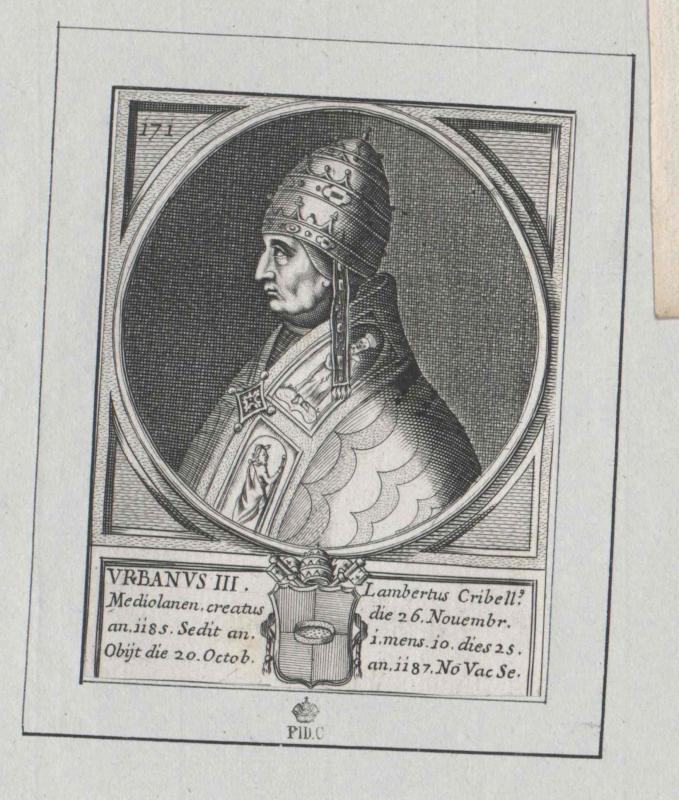 Urban III., papa