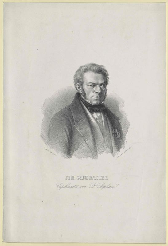 Johann Baptist Gänsbacher©Bildarchiv Austria, ÖNB