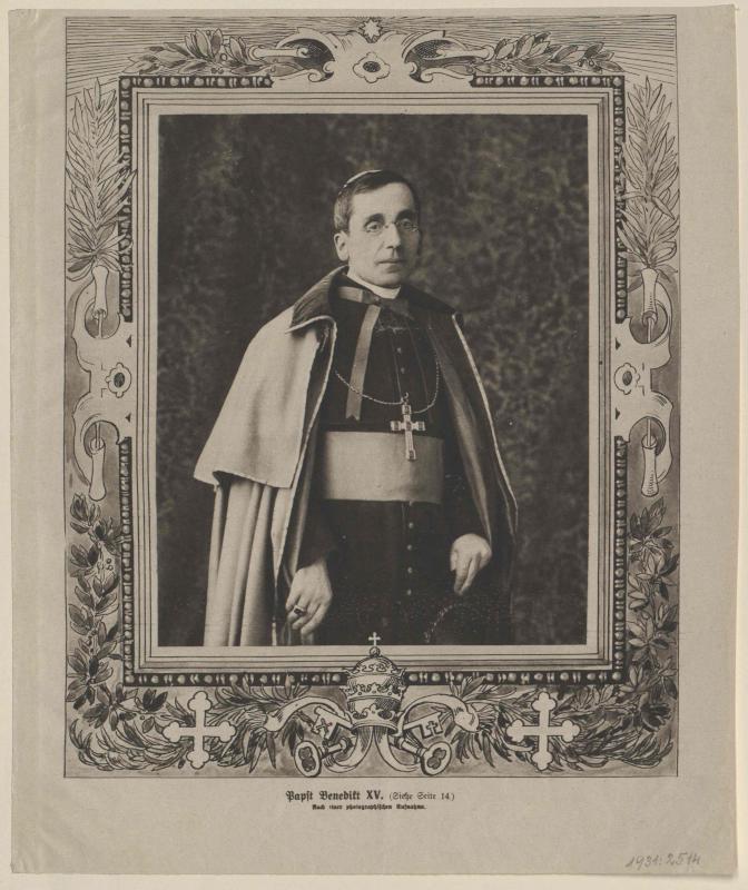 Benedikt XV., papa