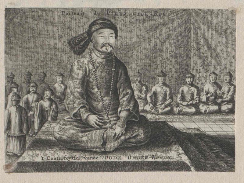 Bildnis: Der ältere Vizekönig (Unterkönig) in China (Mongolei ?)