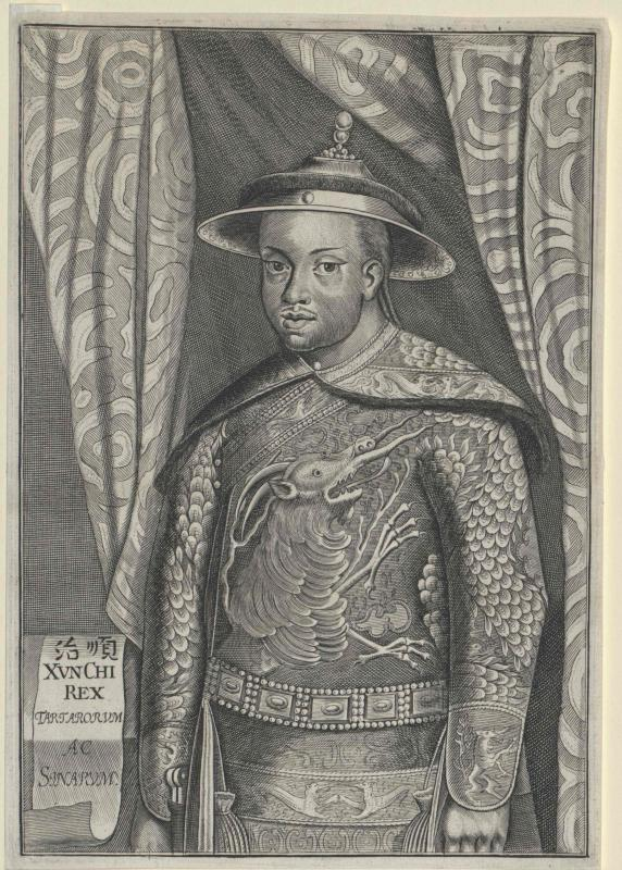 Schi-Tsu, Kaiser von China