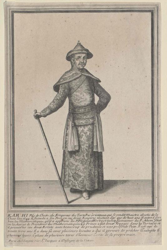 Scheng-Tsu, Kaiser von China