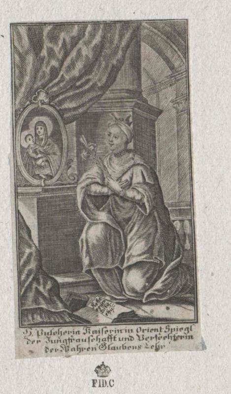 Pulcheria, oströmische Kaiserin, Heilige
