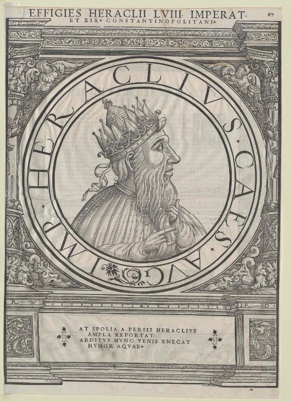 Heraclius, oströmischer Kaiser
