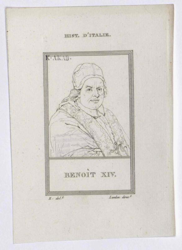 Benedikt XIV., papa