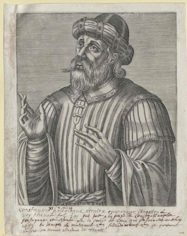 Konstantin XI., Kaiser von Byzanz