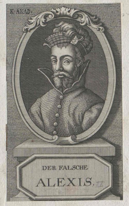 Alexios (II.) Komnenos der Falsche, oströmischer Prätendent