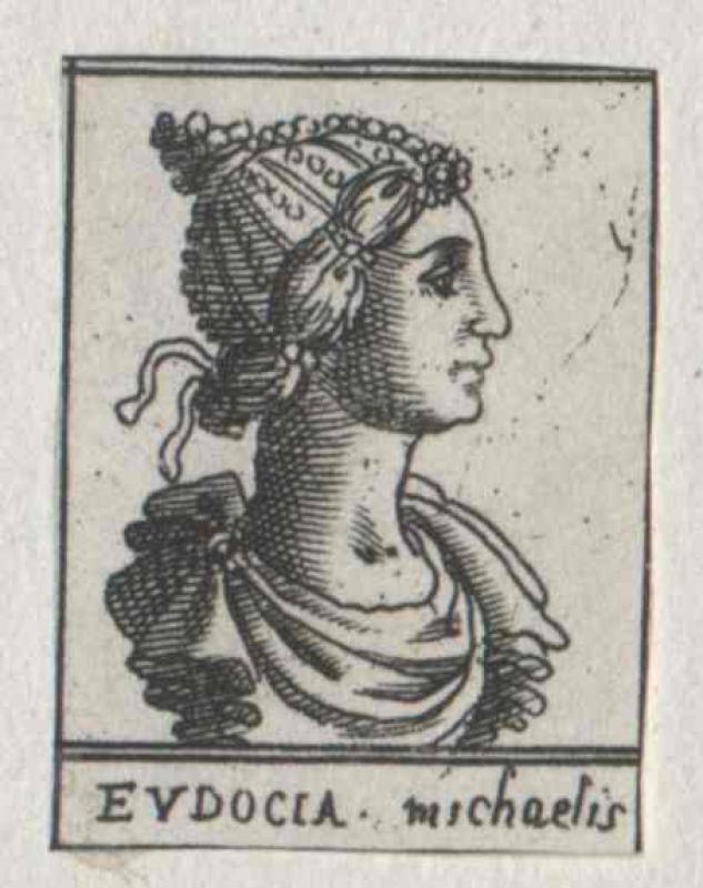 Eudoxia Dekapolitissa, oströmische Kaiserin