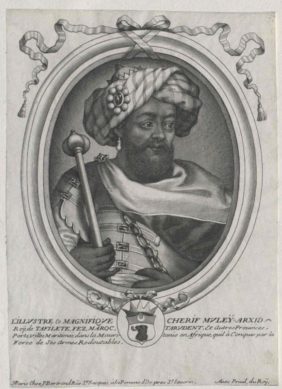 Mulai Arschid, Sultan von Marokko