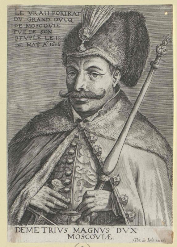 Demetrius, der II. falsche, Zar von Russland