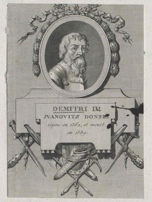Dimitrij IV. Donskoj, Großfürst von Russland