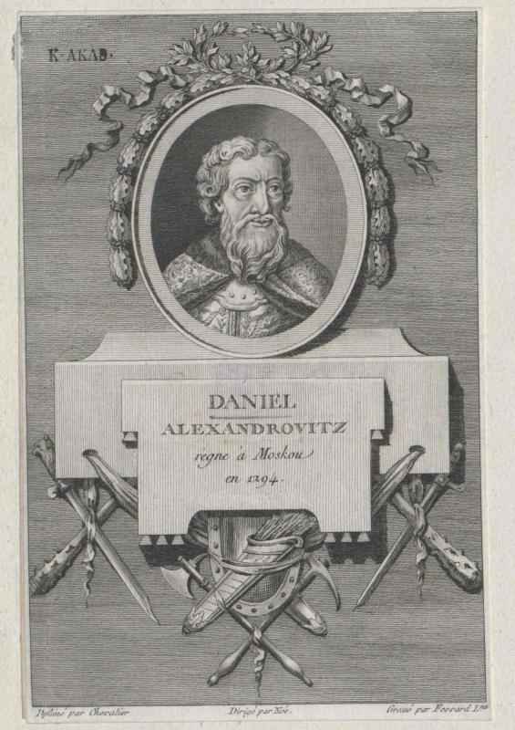 Daniel, Großfürst von Russland