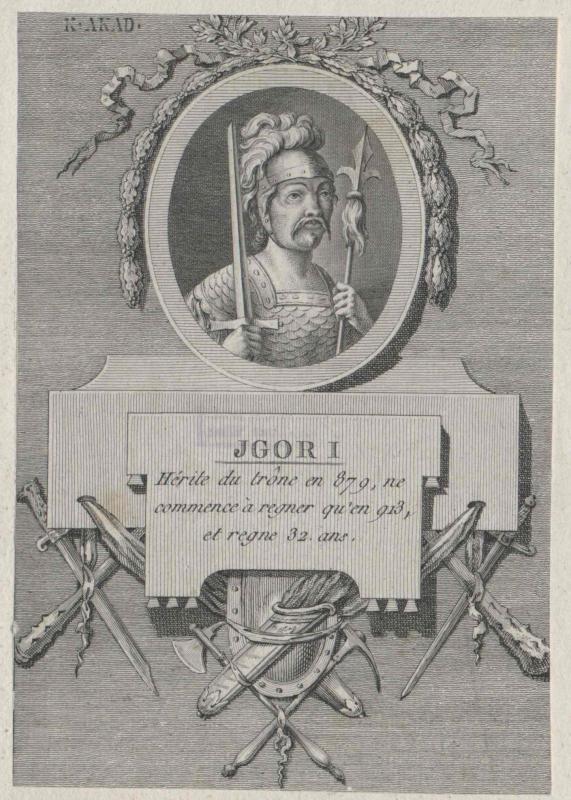 Igor I., Großfürst von Russland