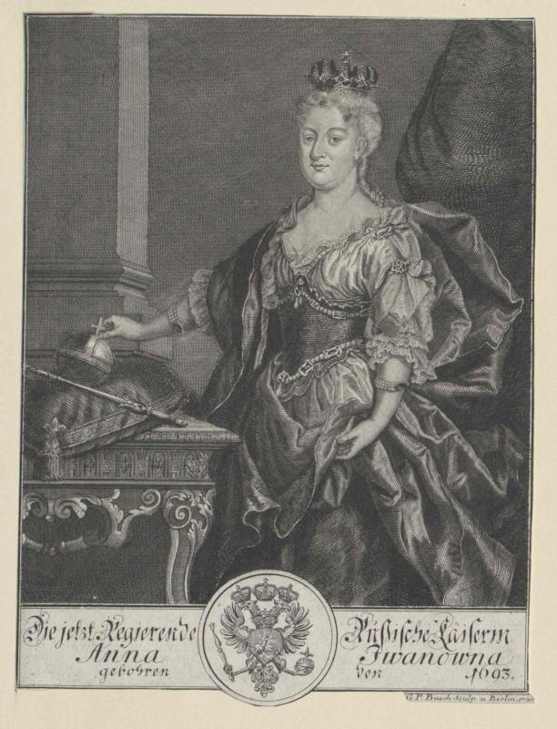 Anna Iwanowna, Kaiserin von Russland