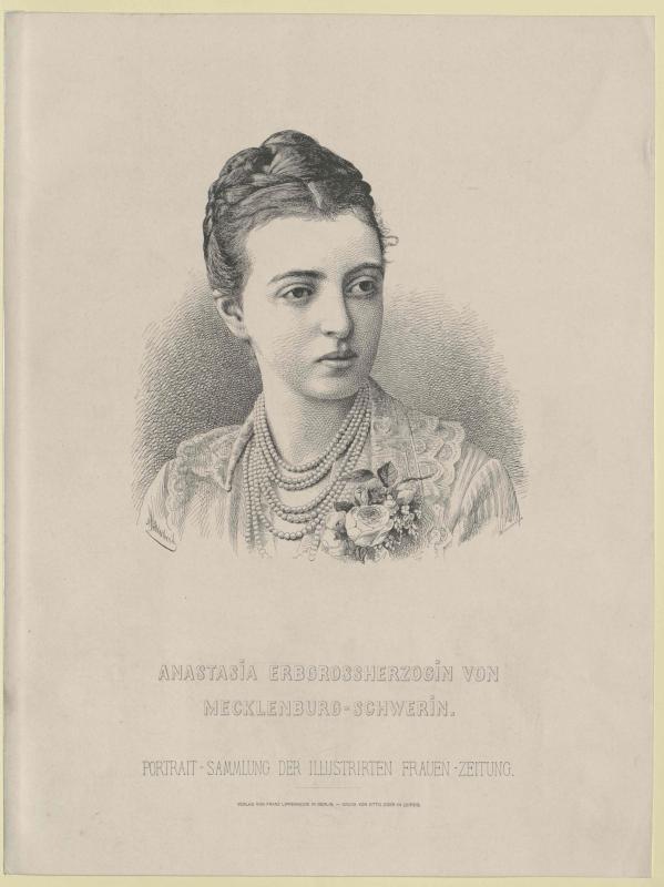 Anastasia Michailowna, Großfürstin von Russland