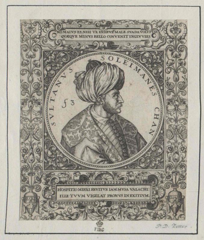 Suleiman I., Sultan der Türkei