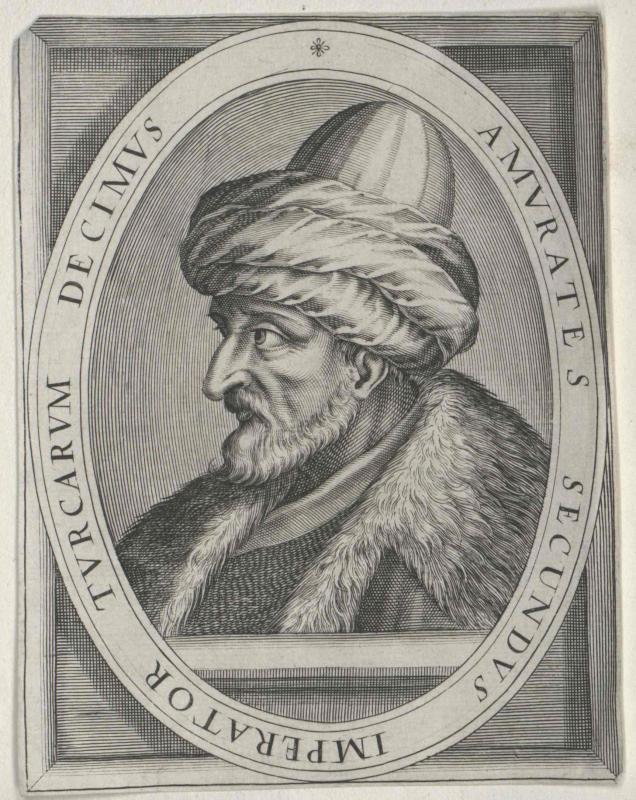 Murad II., Sultan der Osmanen