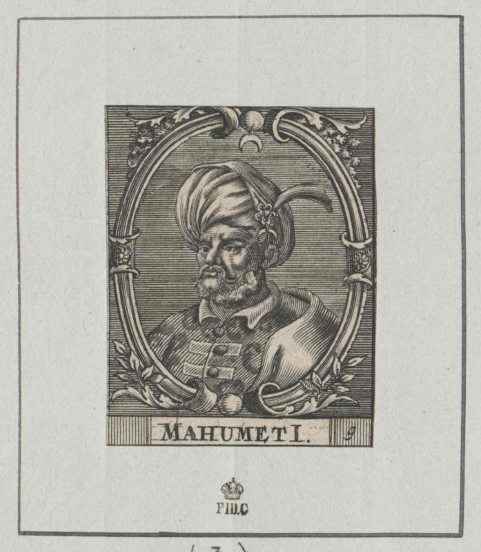Mohammed I., Sultan der Türkei