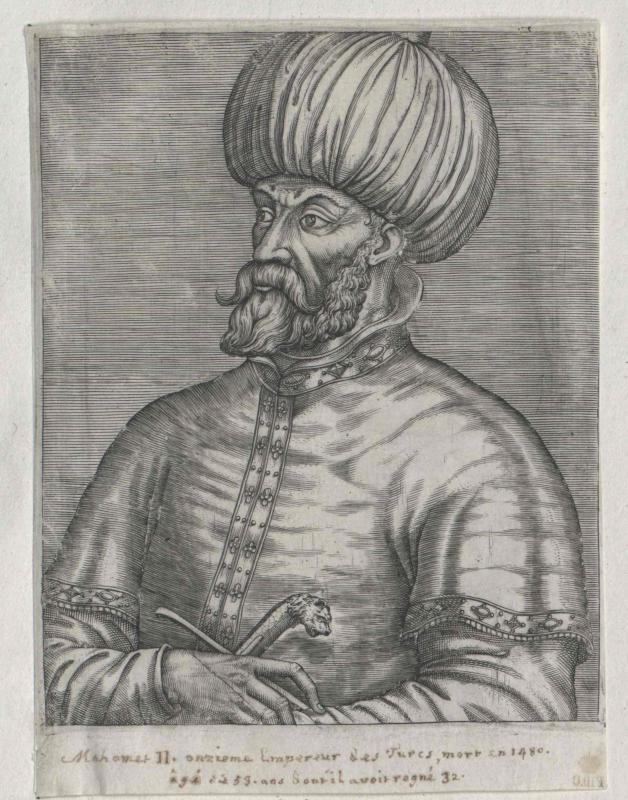 Mohammed II., Sultan der Türkei