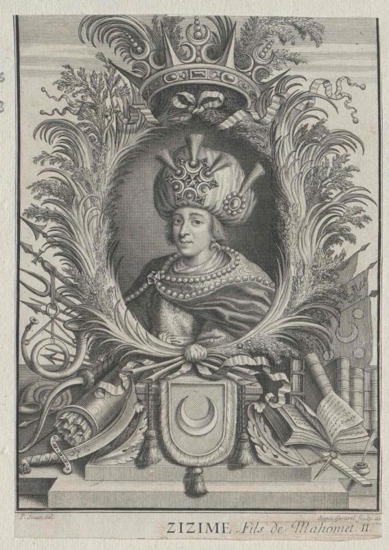 Cem, Osmanisches Reich, Prinz