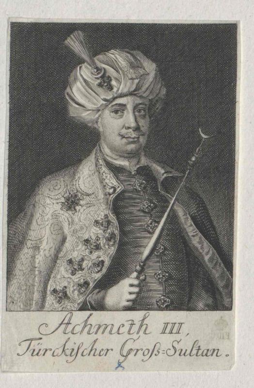 Achmet III., Sultan der Türkei