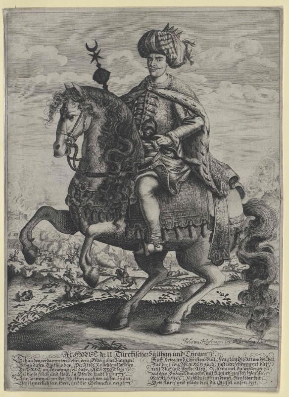 Achmet II., Sultan der Türkei