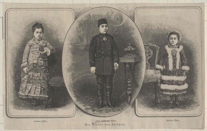 Mehmed Selim Effendi, Prinz der Türkei