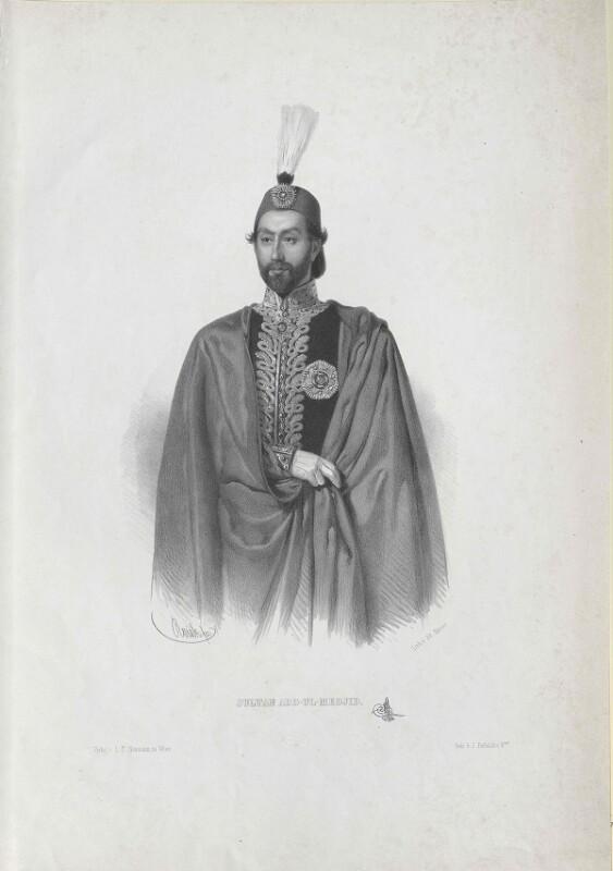 Abdul-Medjid I., Sultan der Türkei