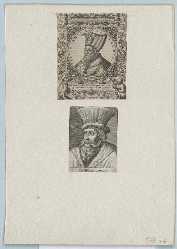 Cansaves Gauris, Sultan von Ägypten