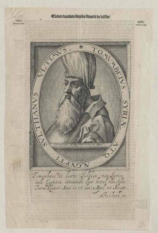 Tomum Bey, Sultan von Ägypten