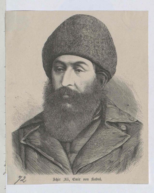 Schir Ali, Emir von Afghanistan