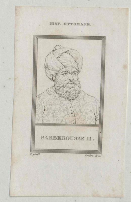 Cheraiddin Barbarossa II., osmanischer Herrscher in Algier