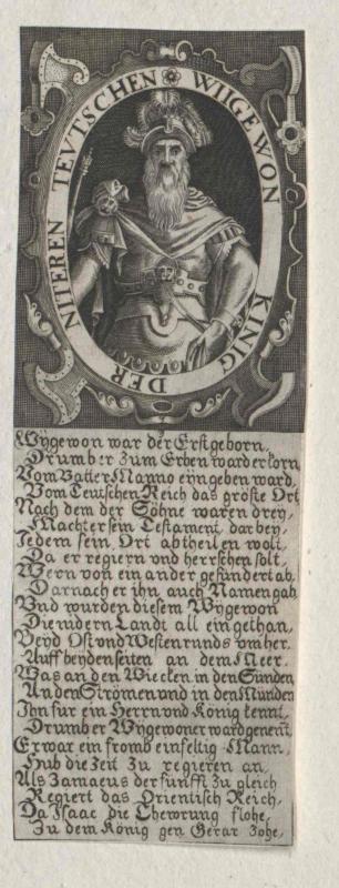 Wigewon, König der Niederdeutschen