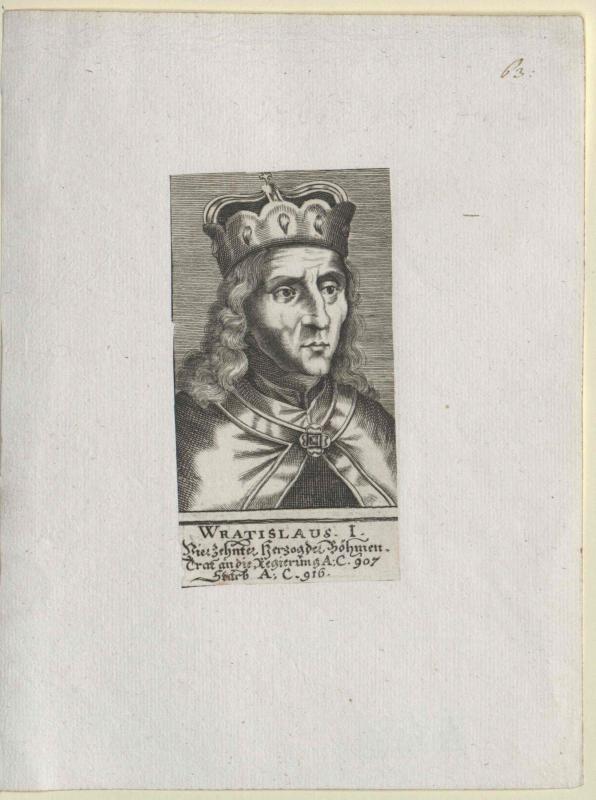 Wratislaw I., Herzog von Böhmen