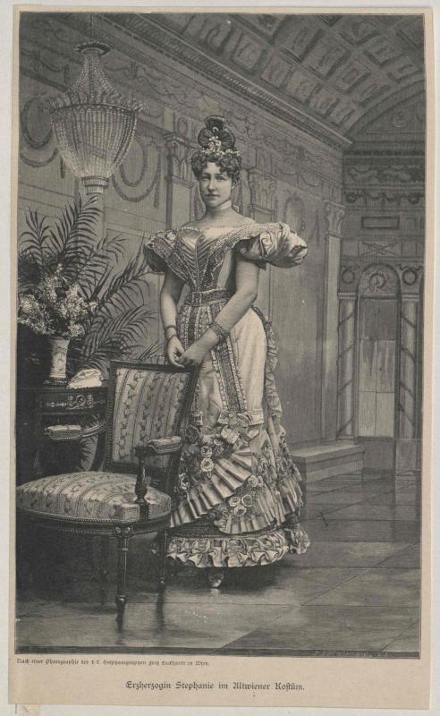 Stephanie, Kronprinzessin von Österreich